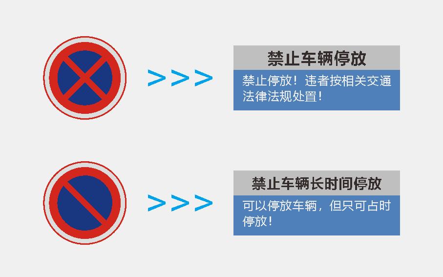 交通标识标牌-禁止标识